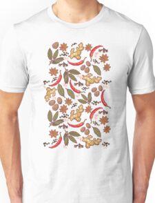 Spices pattern Unisex T-Shirt