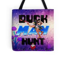 Duckman Hunt 8 Bit Retro Tote Bag