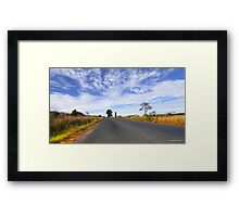 Beautiful Taree 666 Framed Print