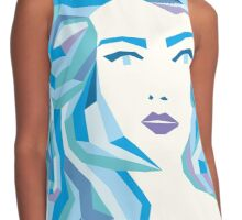 Blue Mood Contrast Tank