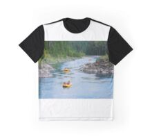Rafting down the river Graphic T-Shirt