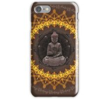 Buddhist Meditation iPhone Case/Skin