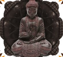 Buddhist Meditation Sticker