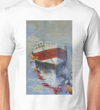 Rose of England, Staithes Harbour Unisex T-Shirt