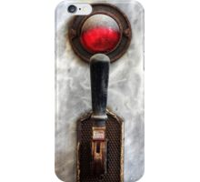 25.6.2016: Old Switch and Indicator Light iPhone Case/Skin