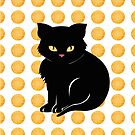 Little Black Cat by Sarah  Mac