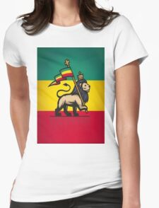 LION OF JUDAH Womens Fitted T-Shirt