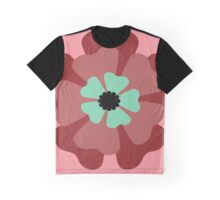 Pink Flower 1 Graphic T-Shirt