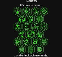Ingress Achievements Enlightened Unisex T-Shirt