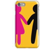 Colorful Pair iPhone Case/Skin
