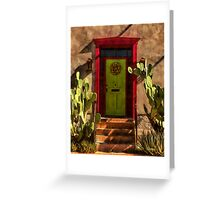 Verdugo House, Tucson, Arizona Greeting Card