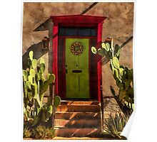 Verdugo House, Tucson, Arizona Poster