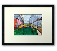 DORSODURO, VENICE Framed Print