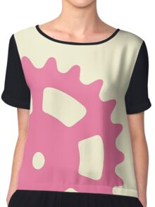 Cog and Roll (pastel) Chiffon Top