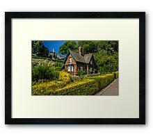 The Gardener's Cottage Framed Print