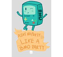 BMO Party Don't Stop. Photographic Print