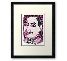 Hercule Poirot Framed Print