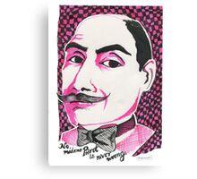 Hercule Poirot Canvas Print