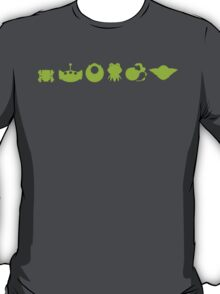 Evolution of Green T-Shirt