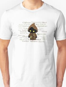 Jawa and Jawaese Unisex T-Shirt