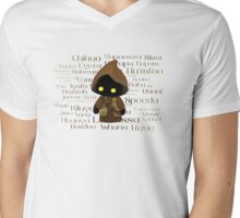 Jawa and Jawaese Mens V-Neck T-Shirt