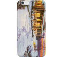 The typical snowy weather day iPhone Case/Skin