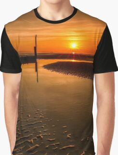 Seascape Sunset Graphic T-Shirt