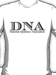 DNA National Dyslexics' Association T-Shirt