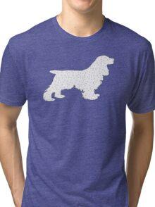 Cocker Spaniel Tri-blend T-Shirt