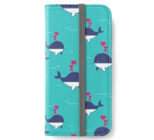 Cute Whales iPhone Wallet/Case/Skin
