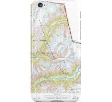 USGS TOPO Map Alaska AK Bradfield Canal A-2 354712 2000 63360 iPhone Case/Skin