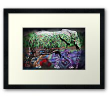 elephant copy Framed Print