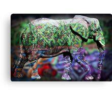 elephant copy Canvas Print