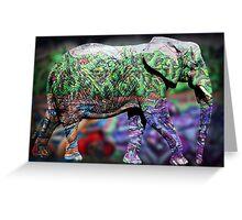 elephant copy Greeting Card