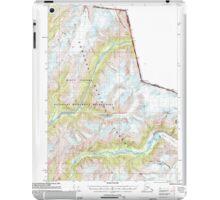 USGS TOPO Map Alaska AK Bradfield Canal A-2 354712 2000 63360 iPad Case/Skin
