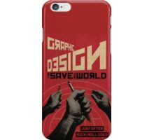 Graphic Design & Rock`n Roll iPhone Case/Skin
