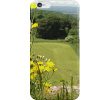 Flowers on a Cliff Edge iPhone Case/Skin