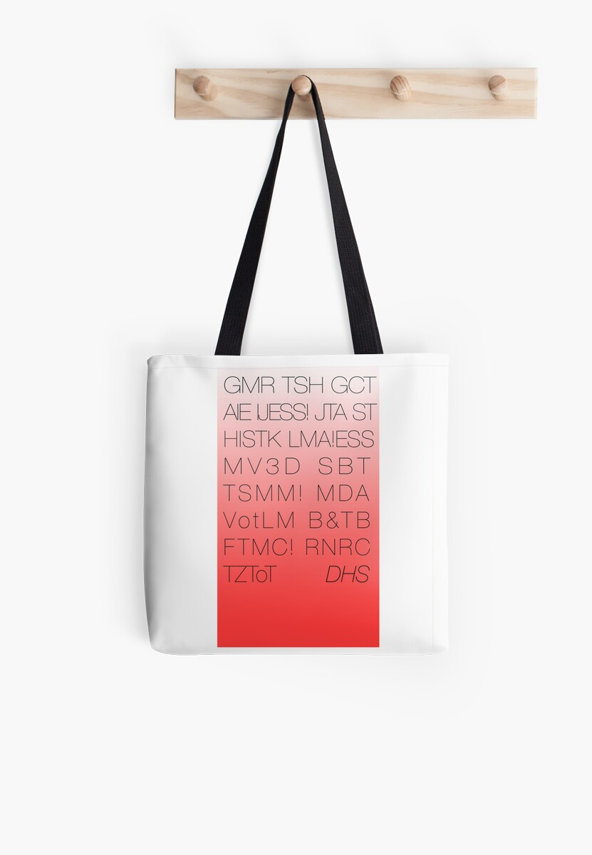 Disney's Hollywood Studios Acronym Tote by magictime