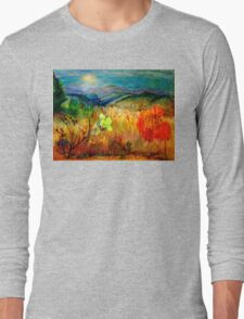 At the Edge of Dreaming Fields Long Sleeve T-Shirt