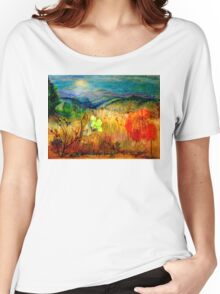 At the Edge of Dreaming Fields Women's Relaxed Fit T-Shirt