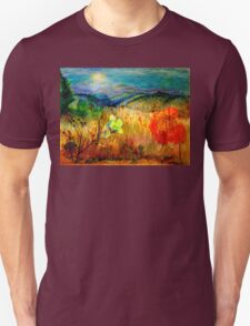 At the Edge of Dreaming Fields Unisex T-Shirt