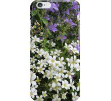 Lilac & White Floral iPhone Case/Skin