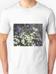 Lilac & White Floral T-Shirt
