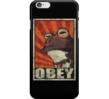 OBEY THE HYPNOTOAD! iPhone Case/Skin