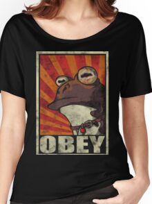 OBEY THE HYPNOTOAD! Women's Relaxed Fit T-Shirt