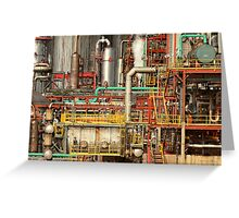 Steampunk - Industrial illusion Greeting Card