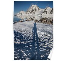 A Photographer in Antartica Poster