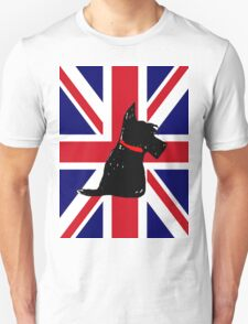 Scottie Dog Union Jack Unisex T-Shirt