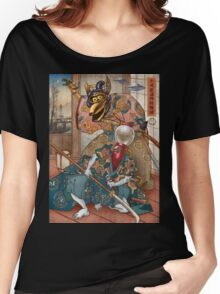 MYSTERY SCIENCE KABUKI Women's Relaxed Fit T-Shirt