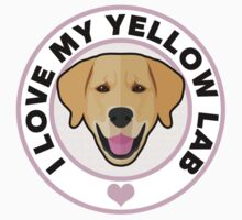 Love My Yellow Lab One Piece - Long Sleeve